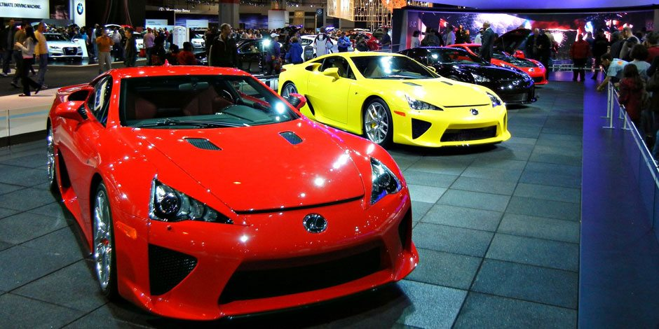 Auto Show's 4 Amazing Cars to Lease