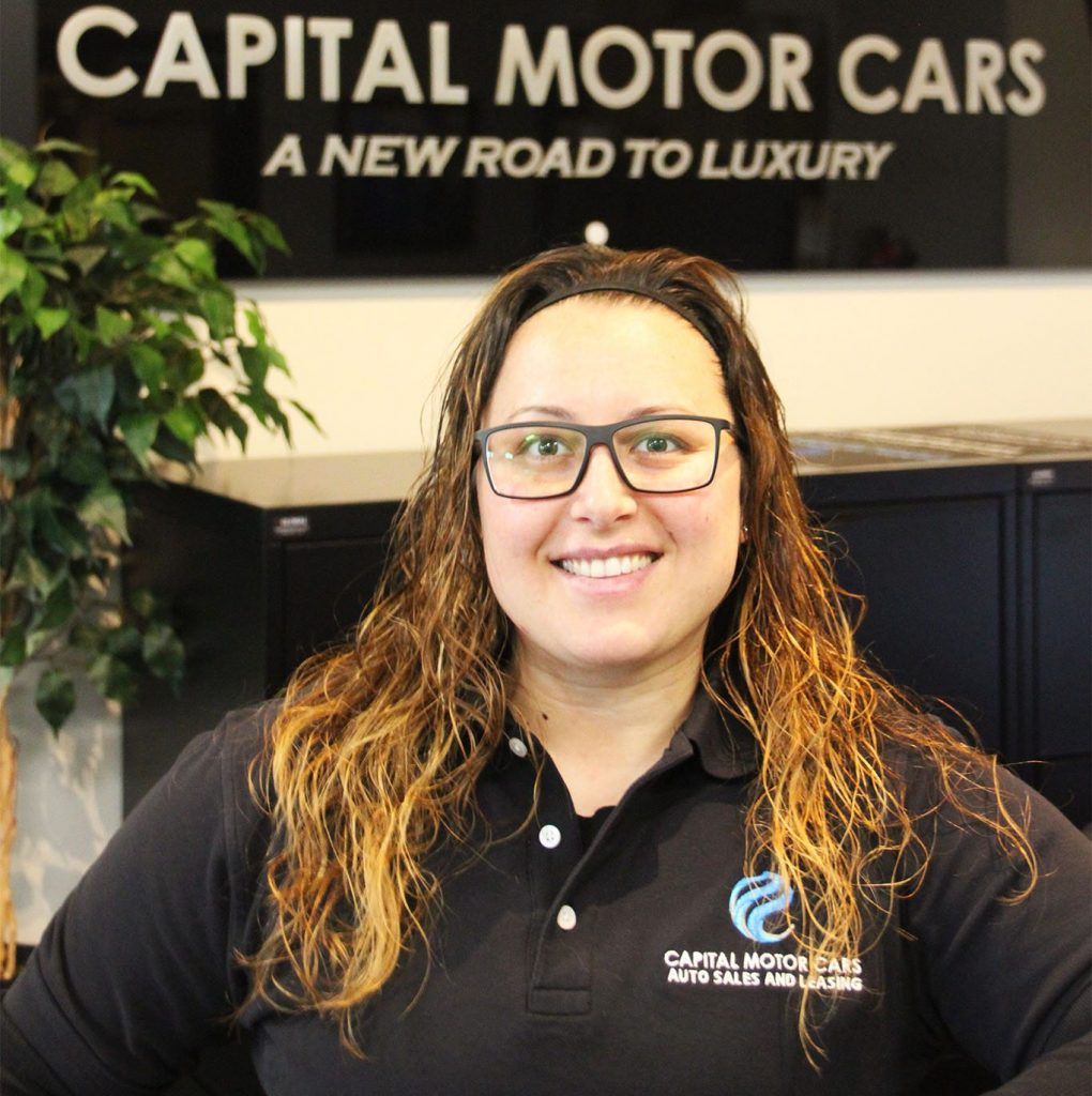 Headshot of Adriana Giampapa from Capital Motor Cars