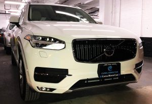 Volvo CX90 Exterior Front with CMC Frame