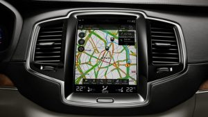 Volvo XC90 Touch Screen Navigation Screen Display