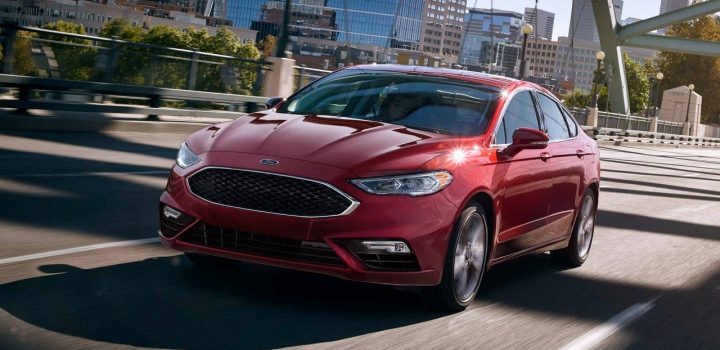 ford fusion front exterior