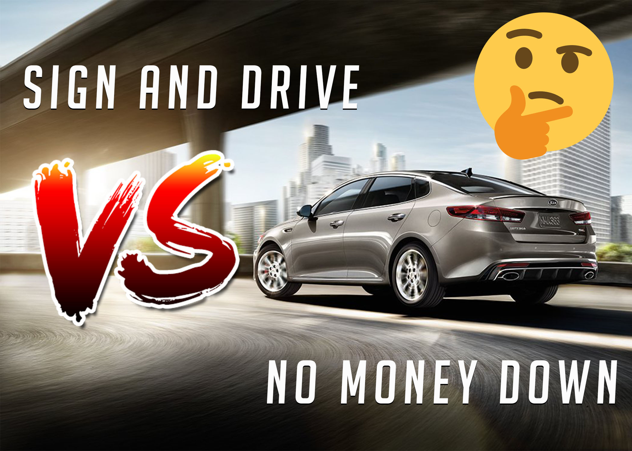 Cheapest Car To Lease With No Money Down >> No Money Down Vs Sign And Drive Lease Deals What S The Difference