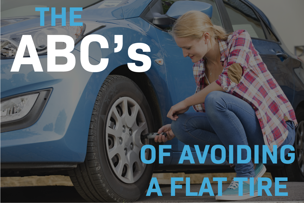 avoid a flat tire with tire maintenance