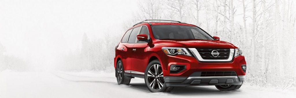 2019 Nissan Pathfinder for driving in snow
