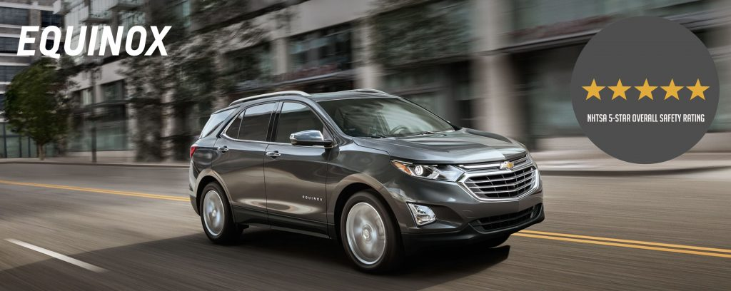 Chevrolet Equinox rated five stars