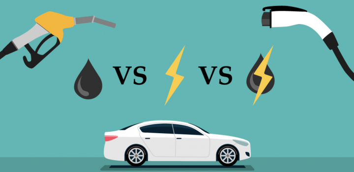 Hybrid vs Gas vs Electric Vehicles