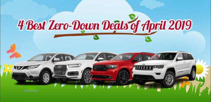 Best Zero Down Lease Deals April