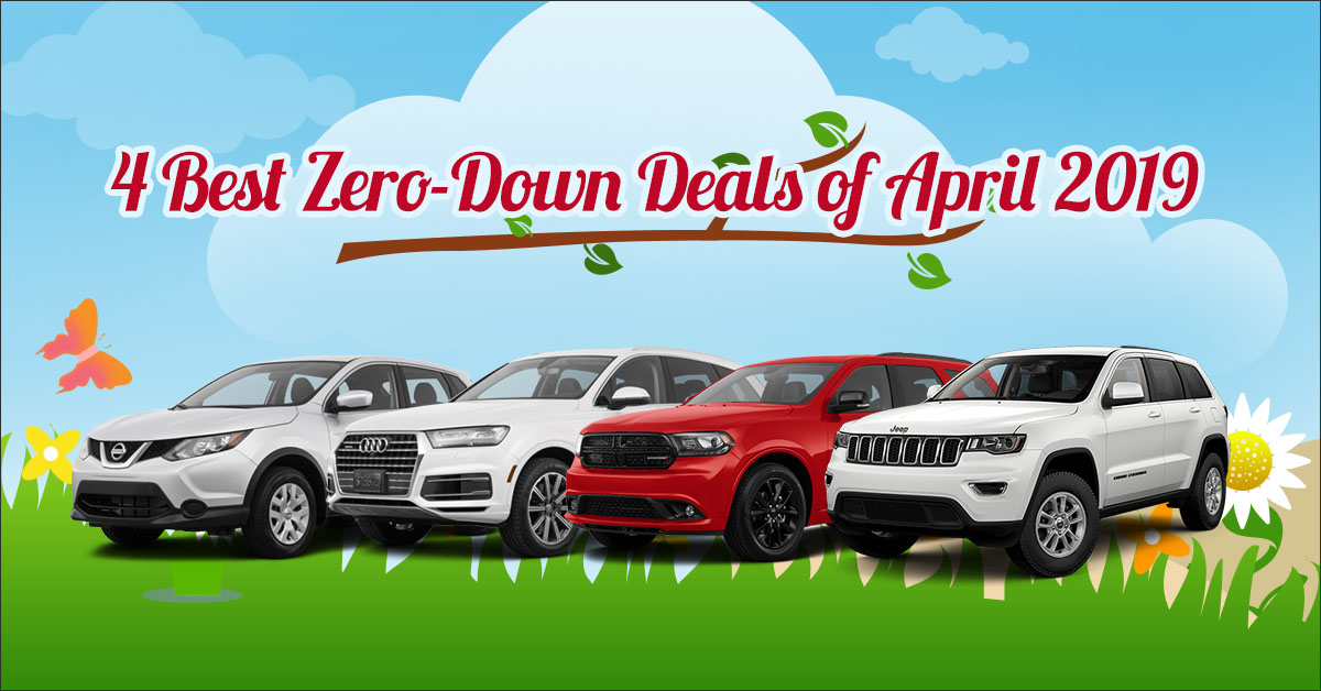 Cheapest Car To Lease With No Money Down >> 4 Best Zero Down Lease Deals Of April 2019 Capital Motor Cars