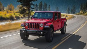 Jeep gladiator lease