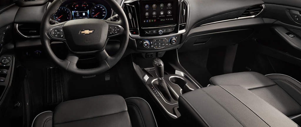 2020 Chevy Traverse Interior Lease